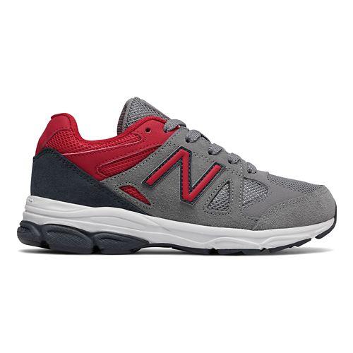 New Balance 888v1 Running Shoe - Grey/Red/Black 13.5C