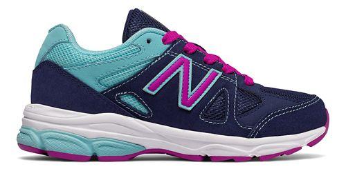 Kids New Balance 888v1 Running Shoe - Blue/Purple 10.5C