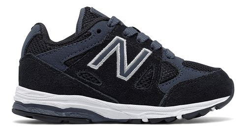 Kids New Balance 888v1 Running Shoe - Black/Grey 10C
