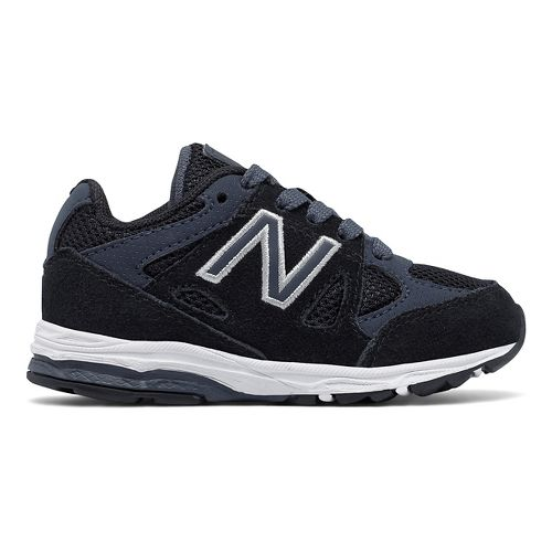 New Balance 888v1 Running Shoe - Black/Grey 6C