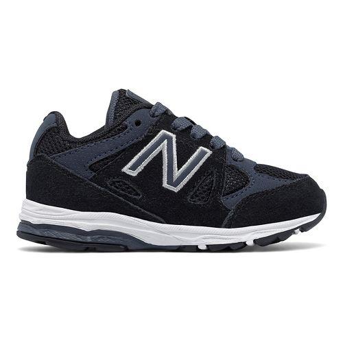 New Balance 888v1 Running Shoe - Black/Grey 9C