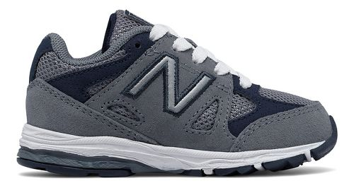 Kids New Balance 888v1 Running Shoe - Grey/Navy 6C