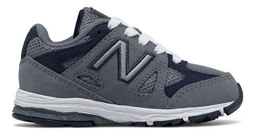 New Balance 888v1 Running Shoe - Grey/Navy 7C