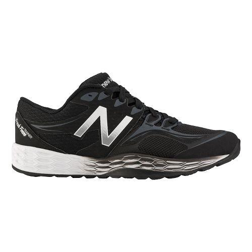 Mens New Balance Fresh Foam 80v2 Cross Training Shoe - Black/Silver 10