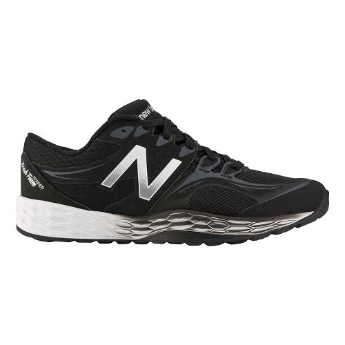 Mens New Balance Fresh Foam 80v2 Cross Training Shoe - Black/Silver 10.5