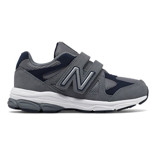 New Balance 888v1 Velcro Running Shoe - Grey/Navy 1.5Y