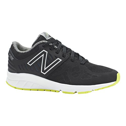 Kids New Balance Vazee Rush Running Shoe - Black/Black 5.5Y