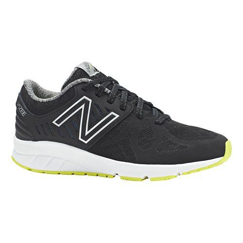 Kids New Balance Vazee Rush Running Shoe - Black/Hi-Lite 5Y