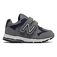 New Balance 888v1 Velcro Running Shoe - Grey/Navy 2C