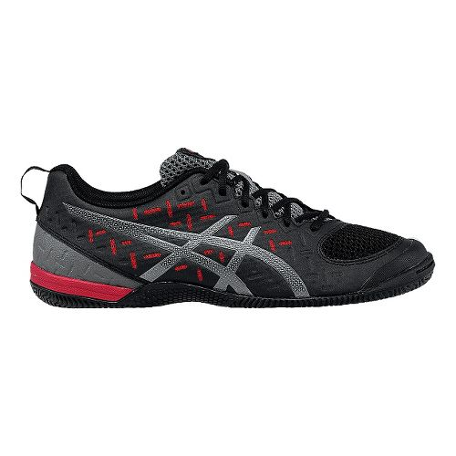 Mens ASICS GEL-Fortius 2 TR Cross Training Shoe - Black/Fiery Red 7.5