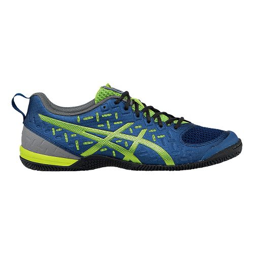 Mens ASICS GEL-Fortius 2 TR Cross Training Shoe - Indigo Blue/Lime 7.5