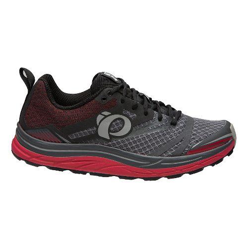 Mens Pearl Izumi Em Trail N 3 Trail Running Shoe - Black/Grey 8.5