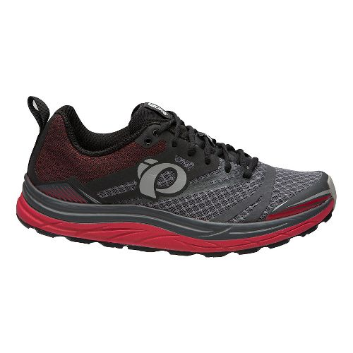 Mens Pearl Izumi Em Trail N 3 Trail Running Shoe - Black/Grey 9.5