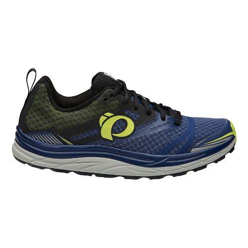 Mens Pearl Izumi Em Trail N 3 Trail Running Shoe - Blue/Lime 11.5