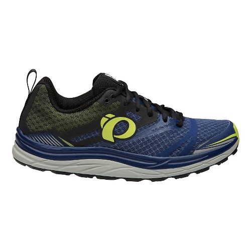 Mens Pearl Izumi Em Trail N 3 Trail Running Shoe - Blue/Lime 9.5