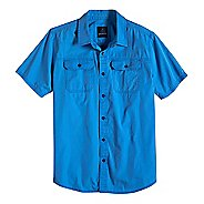 Mens prAna Barekur Short Sleeve Non-Technical Tops