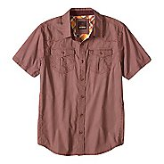 Mens prAna Borla Short Sleeve Non-Technical Tops