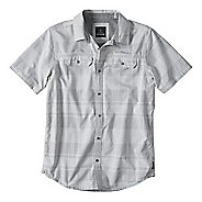 Mens prAna Marvin Short Sleeve Non-Technical Tops