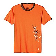 Mens prAna SquirrlN Ringer Short Sleeve Non-Technical Tops