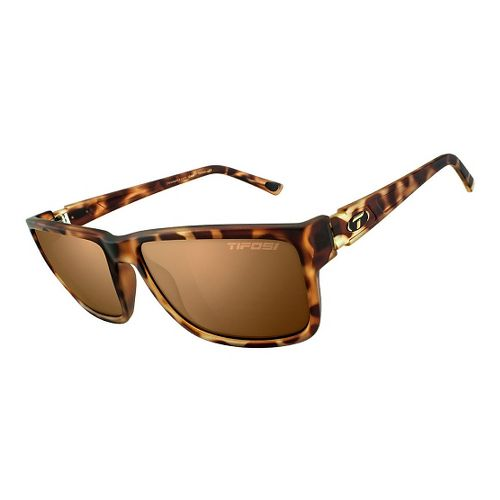 Tifosi Hagen XL Brown Polarized Sunglasses - Matte Tortoise