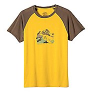Mens prAna Blazing Trails Short Sleeve Non-Technical Tops