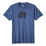 Mens prAna Beardie Slim Fit Short Sleeve Non-Technical Tops