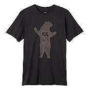 Mens prAna Bear Slim Fit Short Sleeve Non-Technical Tops