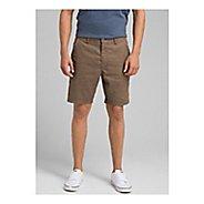 Mens prAna Furrow Short 8 Inseam Unlined Shorts - Mud 38