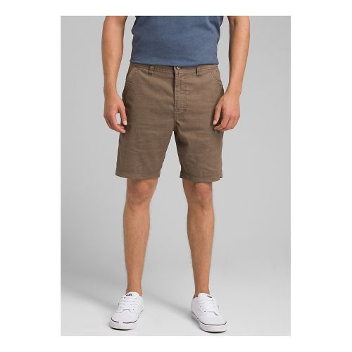 Mens prAna Furrow Short 8 Inseam Unlined Shorts - Mud 28