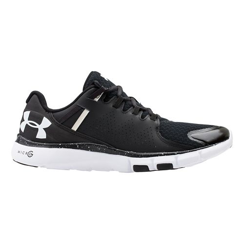 Womens Under Armour Micro G Limitless TR Cross Training Shoe - Black/White 10