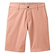Mens Prana Table Rock Chino Unlined Shorts - Sunset Pink 36