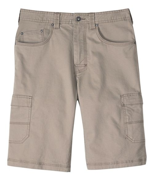 Mens prAna Murray Relaxed Fit Unlined Shorts - Dark Khaki 28
