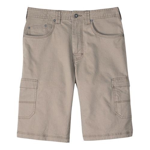 Mens prAna Murray Relaxed Fit Unlined Shorts - Dark Khaki 30