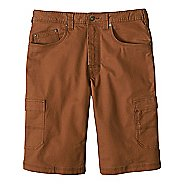 Mens prAna Murray Relaxed Fit Unlined Shorts - Sepia 32
