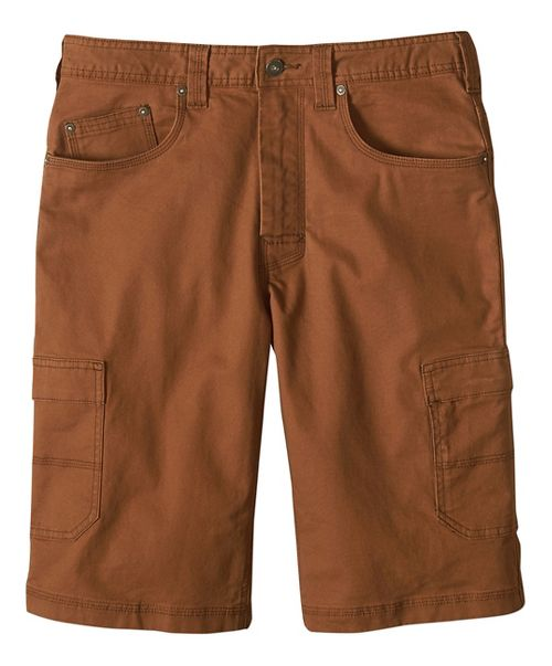 Mens prAna Murray Relaxed Fit Unlined Shorts - Sepia 34