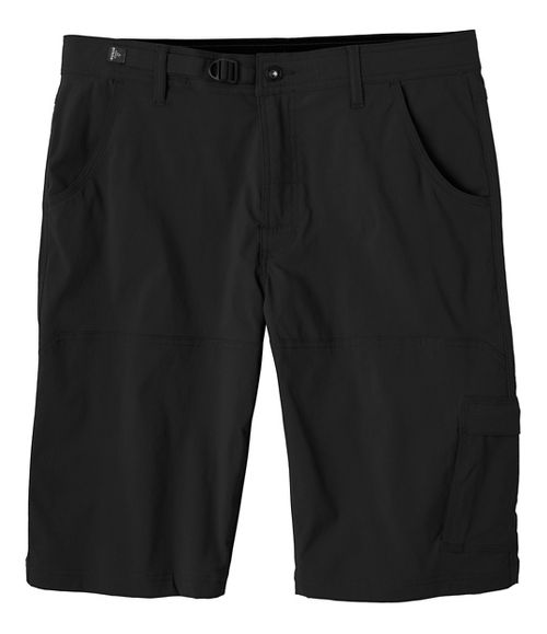 Mens prAna Stretch Zion Unlined Shorts - Black 32