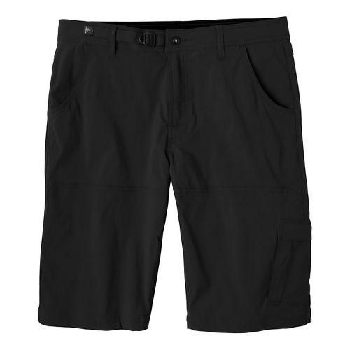 Mens prAna Stretch Zion Unlined Shorts - Black 36