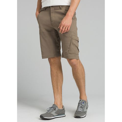 Mens prAna Stretch Zion Unlined Shorts - Mud 32