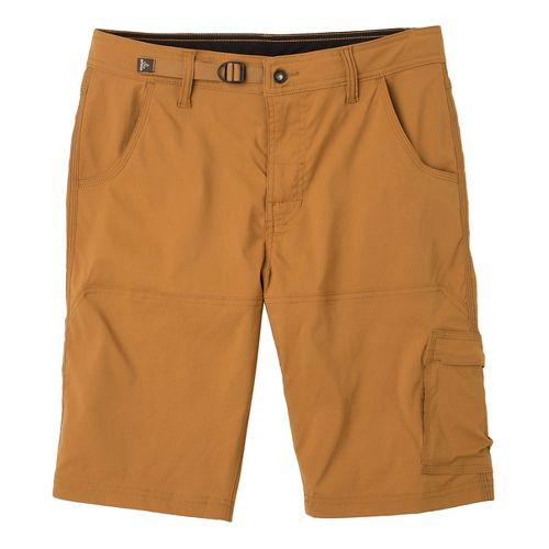 Mens prAna Stretch Zion Unlined Shorts - Dark Ginger 36