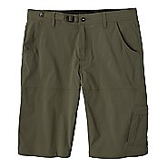 Mens prAna Stretch Zion Unlined Shorts - Cargo Green 38