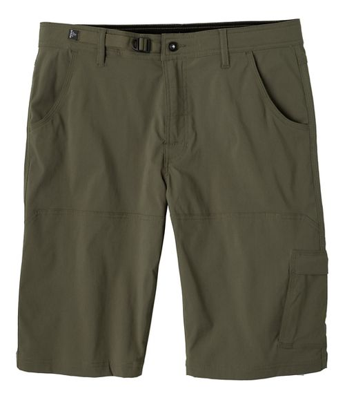 Mens prAna Stretch Zion Unlined Shorts - Cargo Green 36
