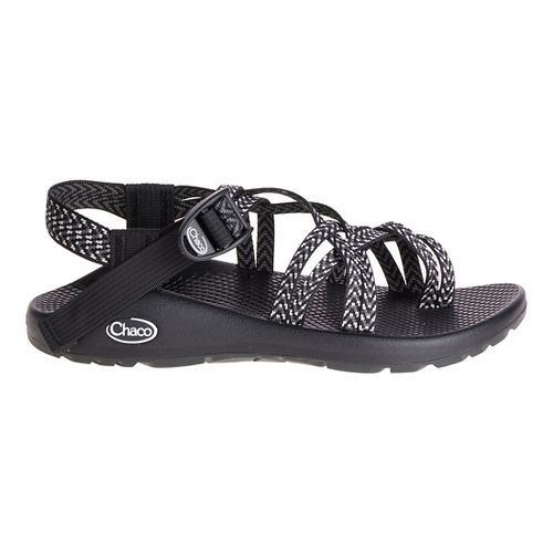 Womens Chaco ZX2 Classic Sandals Shoe - White/Black 9
