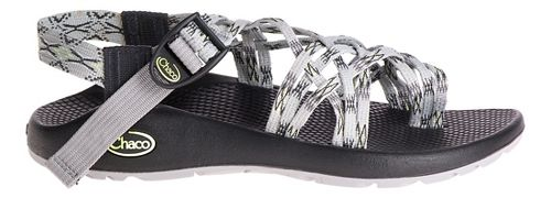Womens Chaco ZX3 Classic Sandals Shoe - Lime Grey 7