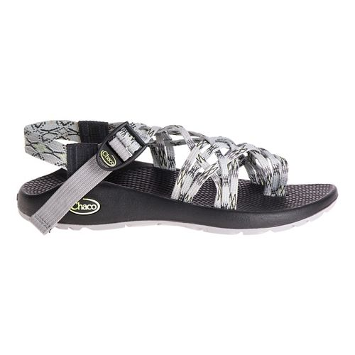 Womens Chaco ZX3 Classic Sandals Shoe - Lime Grey 9