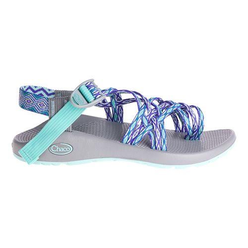 Womens Chaco ZX3 Classic Sandals Shoe - Aqua Mint 11