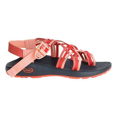 Womens Chaco ZX3 Classic Sandals Shoe - Chia Orange 6