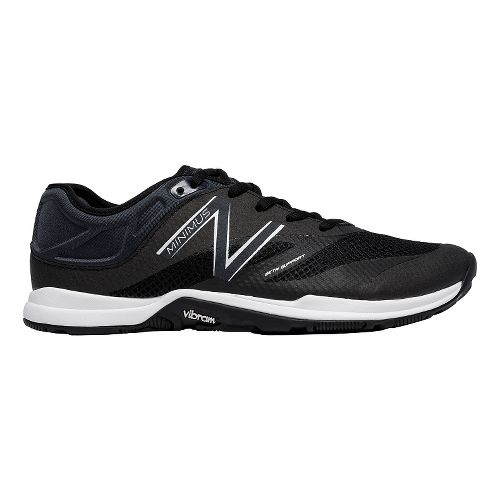 Womens New Balance Minimus 20v5 Trainer Cross Training Shoe - Black/White 8