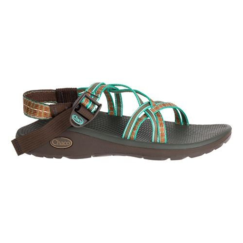 Womens Chaco Z/Cloud X Sandals Shoe - Fired Adobe 8