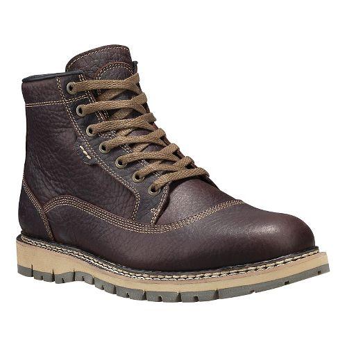 Mens Timberland Britton Hill Waterproof Cap Toe Chukka Casual Shoe - Dark Brown 11