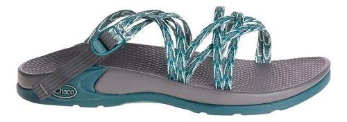 Womens Chaco Wrapsody X Sandals Shoe - Key Teal 9